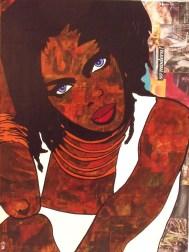 Lauryn Hill / 60*80cm / sur toile / technique mixte