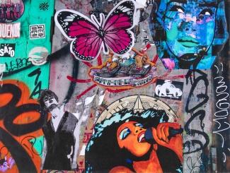 Street art 01 / 60*80 cm / (support aluminium) / 250€