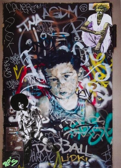 Street art 02 / 60*80 cm / (support aluminum) / 250€