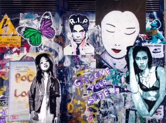 Street art 04 / 60*80 cm / (support aluminium) / 250€