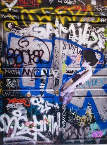 Street art 05 / 60*80 cm / (support aluminium) / 250€
