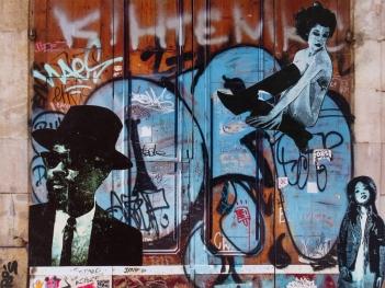 Street art 06 / 60*80 cm / (support aluminium) / 250€