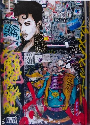 Street art 08 / 60*80 cm / (support aluminium) / 250€