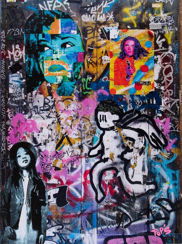 Street art 12 / 60*80 cm / support aluminium) / 250€