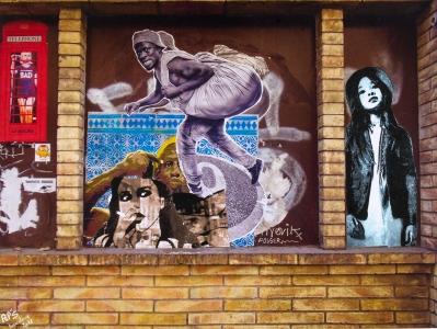 Street art 14 / 60*80 cm / (support aluminium) / 250€