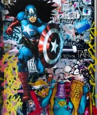 Street art 19 / 60*80 cm / (support aluminium) / 250€