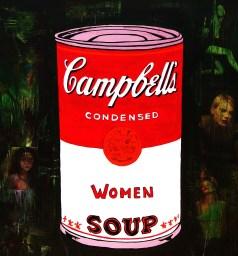 Campbell / 40*40cm / papier Canson + passe-partout / technique mixte / 60€