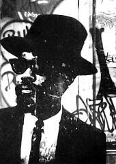 JazzMan / 30*40cm / avec cadre noir (40*50cm) / 100€