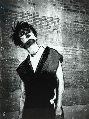 La Punk / 30*40cm / avec cadre noir (40*50cm) / 100€